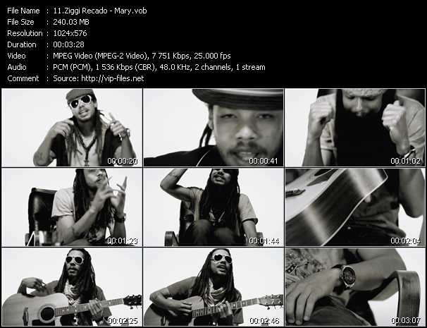 Ziggi Recado video screenshot
