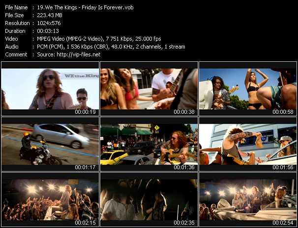 We The Kings video screenshot
