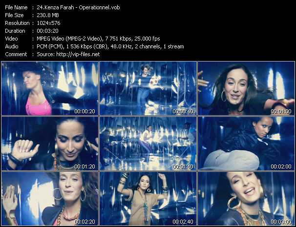 Kenza Farah video screenshot