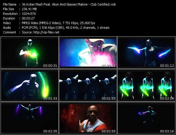 Kylian Mash Feat. Akon And Glasses Malone video screenshot