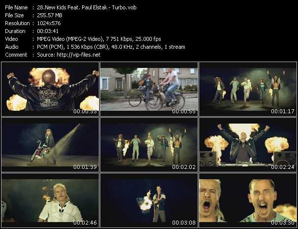 New Kids Feat. Paul Elstak video screenshot