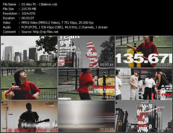 Alex M. video screenshot