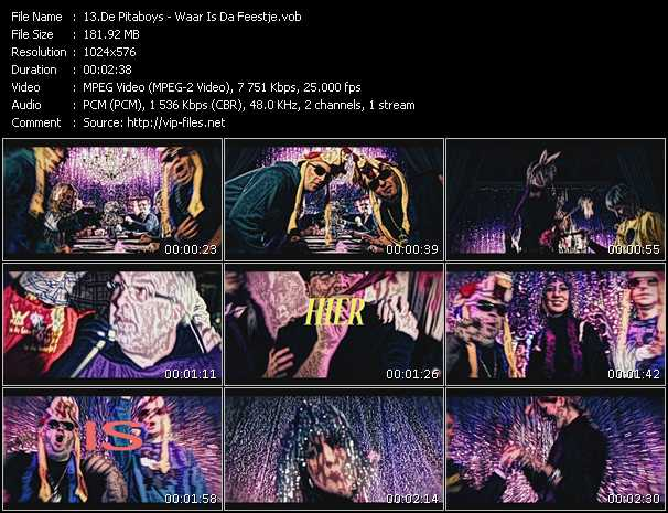 De Pitaboys video screenshot