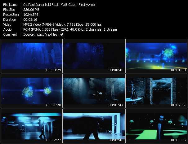Paul Oakenfold Feat. Matt Goss video screenshot