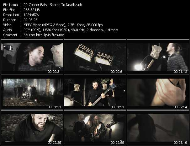 Cancer Bats video screenshot