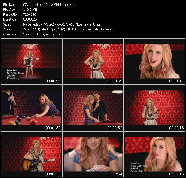 Jesse Lee video screenshot