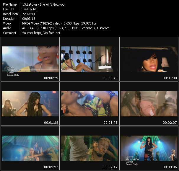 Letoya video screenshot