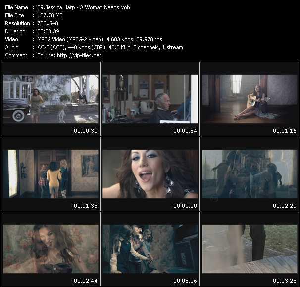 Jessica Harp video screenshot