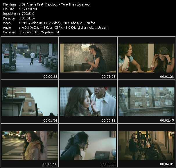 video More Than Love screen