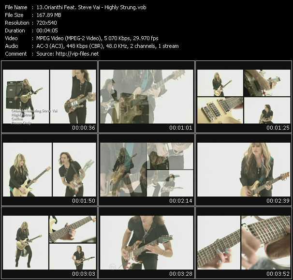 Orianthi Feat. Steve Vai video screenshot