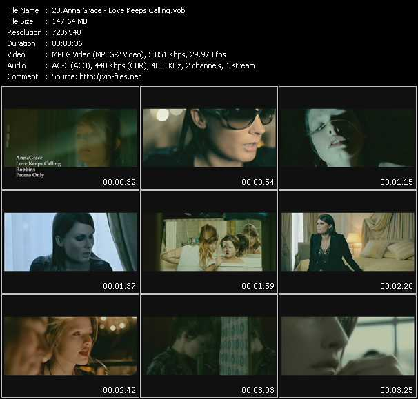 AnnaGrace video screenshot