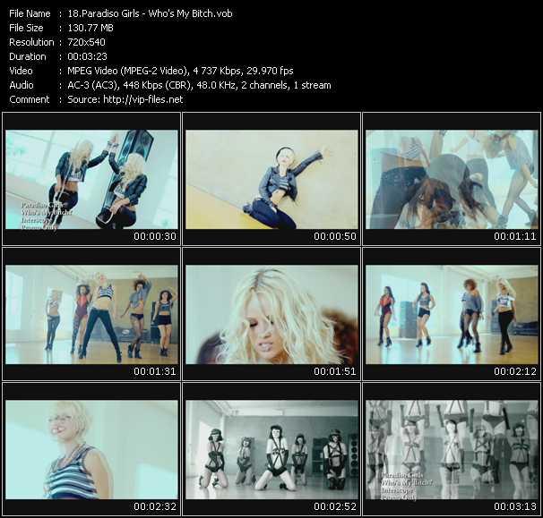 Paradiso Girls video screenshot