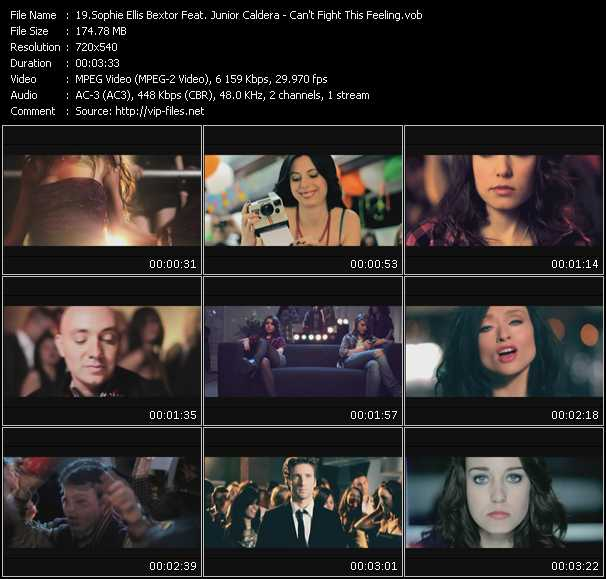 Junior Caldera And Sophie Ellis-Bextor video screenshot