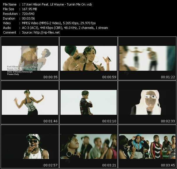 video Turnin Me On screen