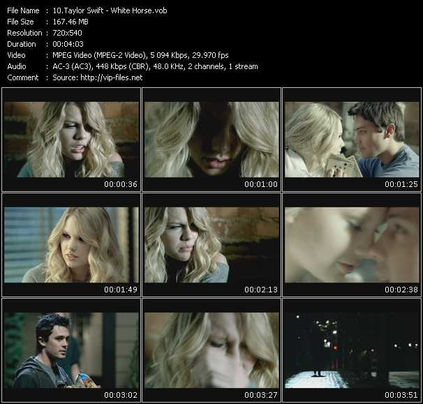 video White Horse screen