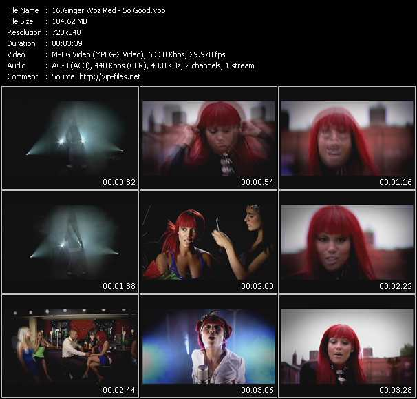 Ginger Woz Red video screenshot