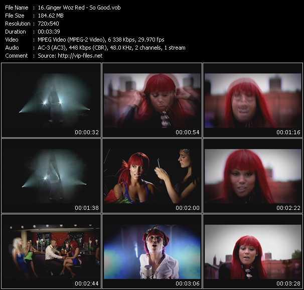 Ginger Woz Red video screenshot