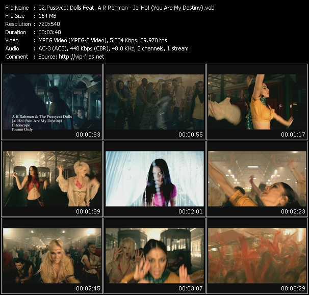 Pussycat Dolls Feat. A.R. Rahman video screenshot