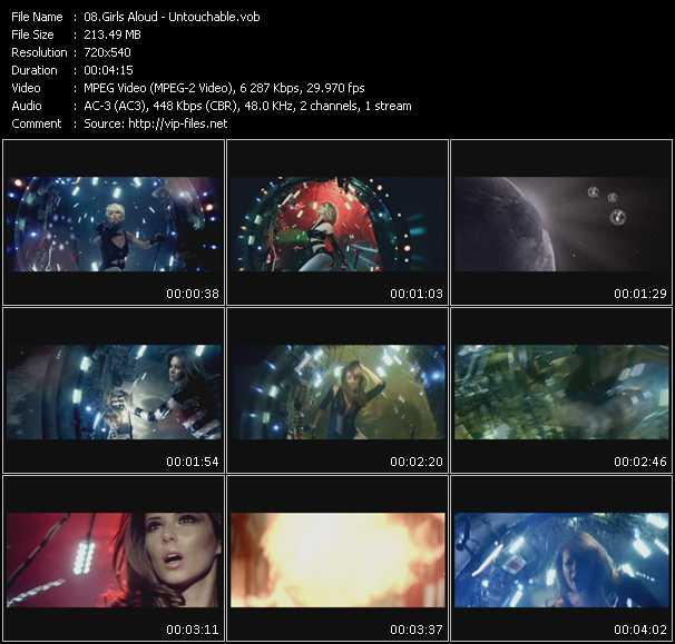 video Untouchable screen