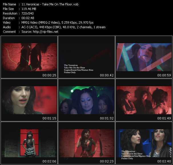 Veronicas video screenshot