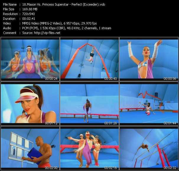 Mason Vs. Princess Superstar video screenshot