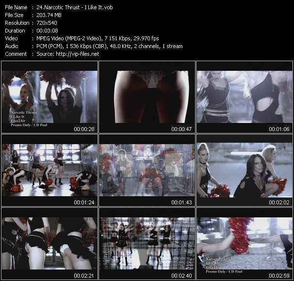 Narcotic Thrust video screenshot