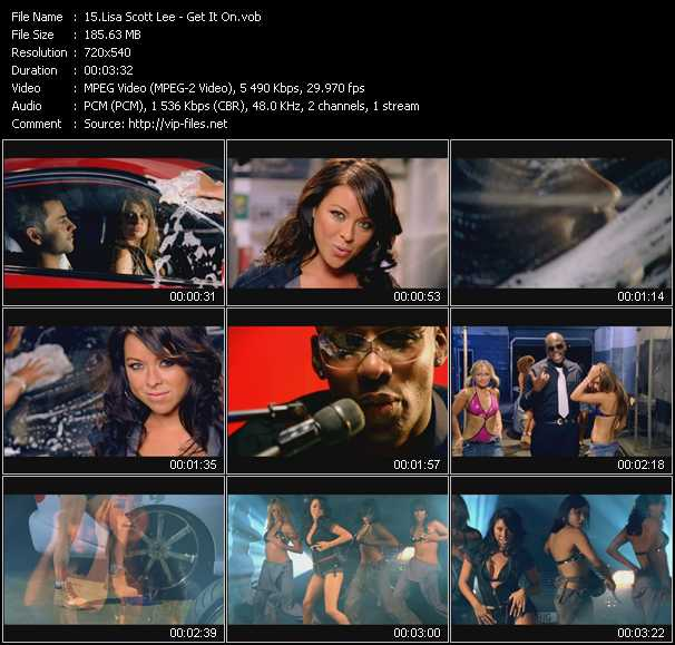 Lisa Scott-Lee video screenshot