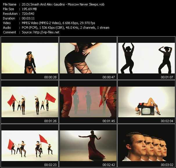 Dj Smash And Alex Gaudino video screenshot