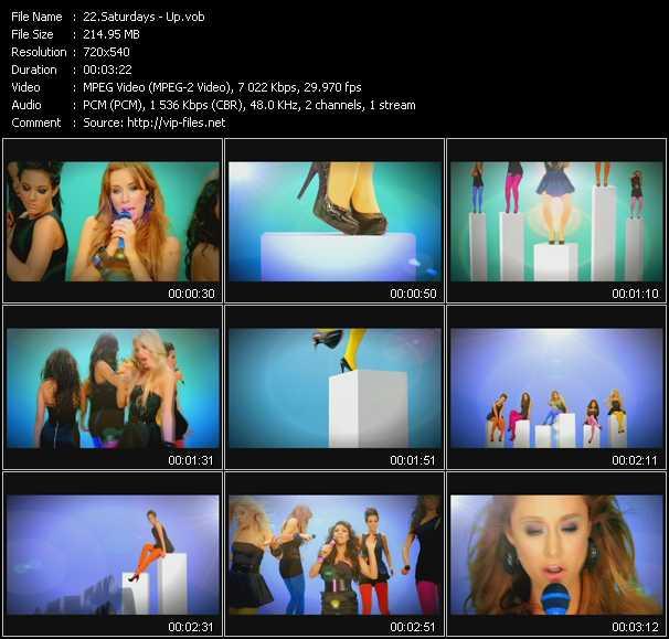 Saturdays video screenshot