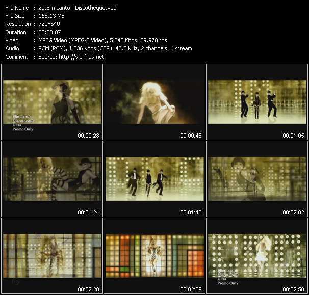 Elin Lanto video screenshot