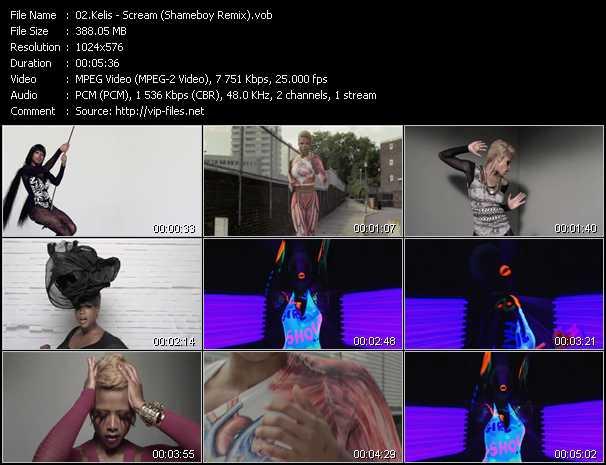 video Scream (Shameboy Remix) screen