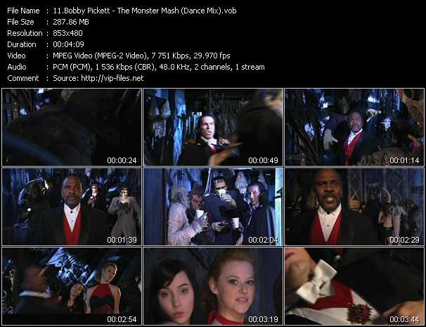 Bobby Pickett video screenshot