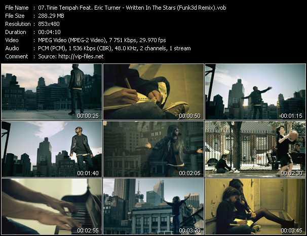 Tinie Tempah Feat. Eric Turner video screenshot