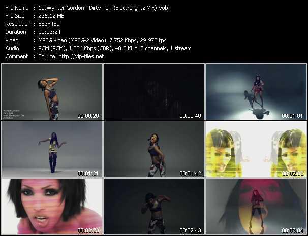 video Dirty Talk (Electrolightz Mix) screen