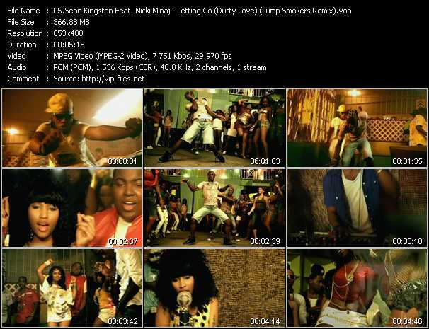 video Letting Go (Dutty Love) (Jump Smokers Remix) screen