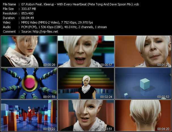 Robyn Feat. Kleerup video screenshot