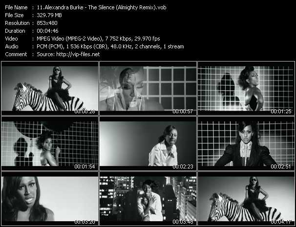 video The Silence (Almighty Remix) screen