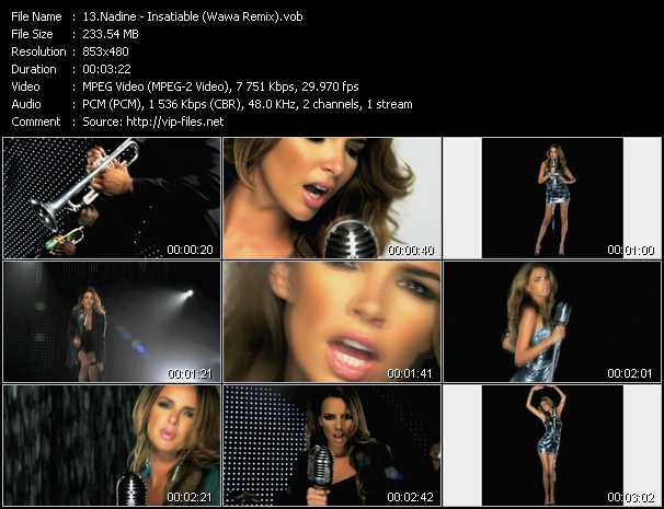 Nadine video screenshot