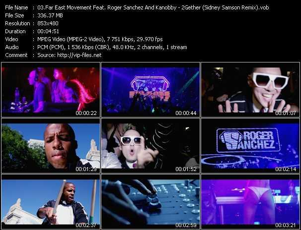 Far East Movement Feat. Roger Sanchez And Kanobby video screenshot