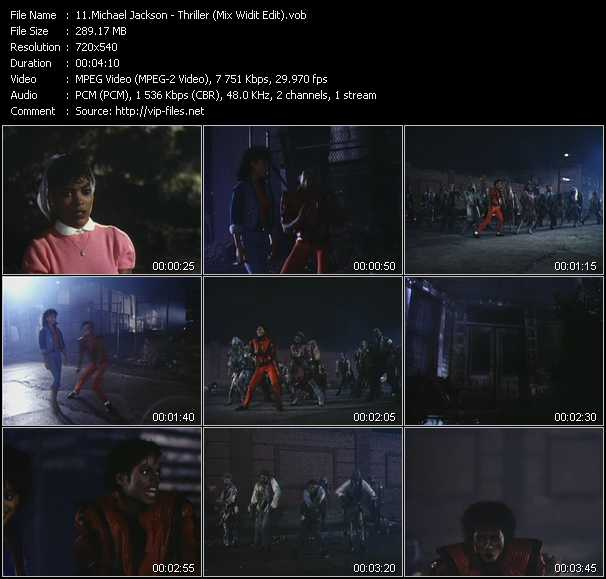 video Thriller (Mix Widit Edit) screen