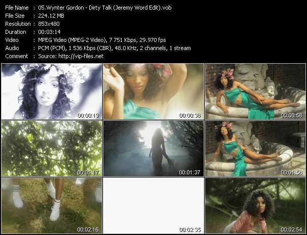 video Dirty Talk (Jeremy Word Edit) screen