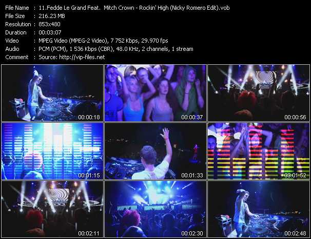 Fedde Le Grand Feat. Mitch Crown video screenshot