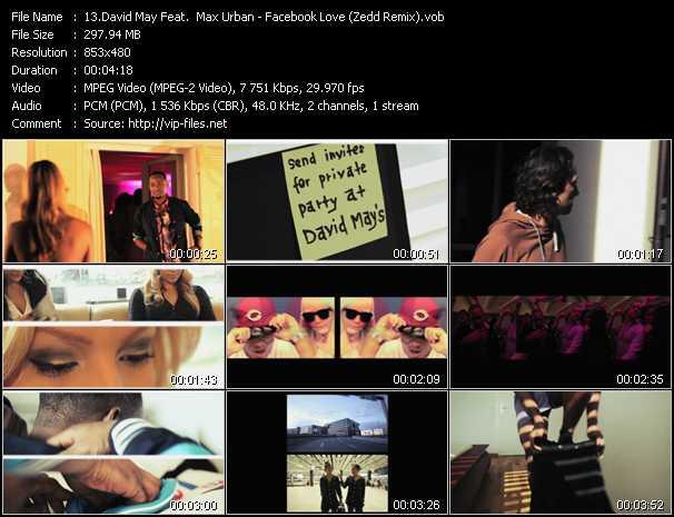 David May Feat. Max Urban video screenshot
