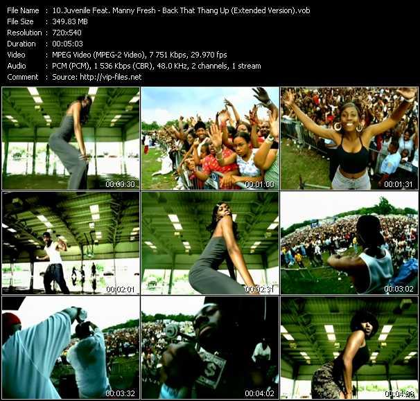 Juvenile Feat. Manny Fresh video screenshot
