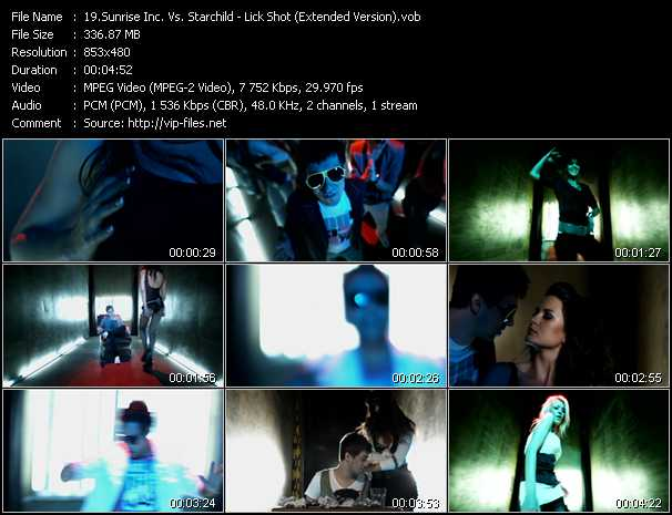 Sunrise Inc. Vs. Starchild video screenshot