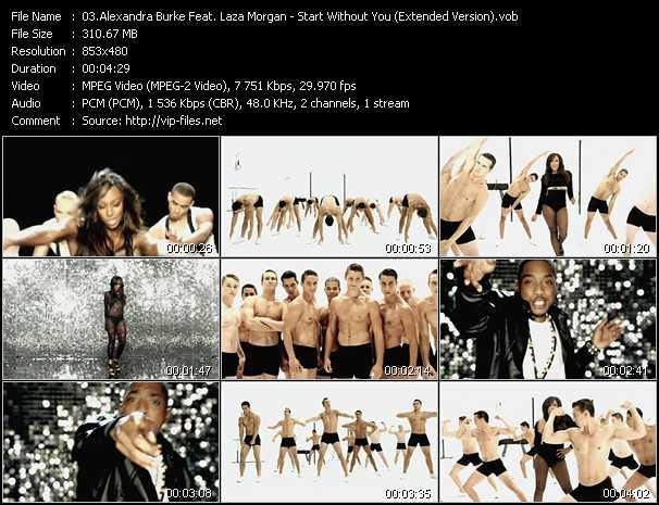 Alexandra Burke Feat. Laza Morgan video screenshot