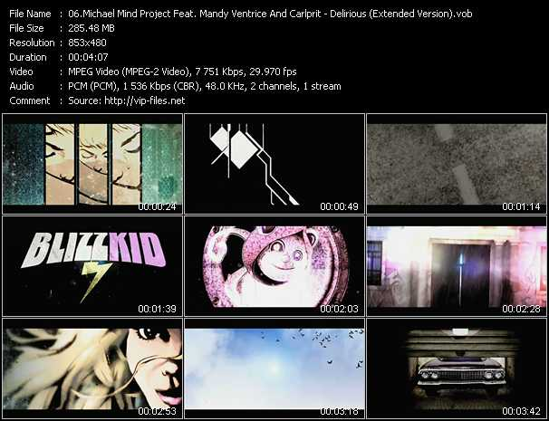 Michael Mind Project Feat. Mandy Ventrice And Carlprit video screenshot