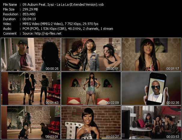 Auburn Feat. Iyaz video screenshot