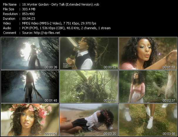 video Dirty Talk (Extended Version) screen