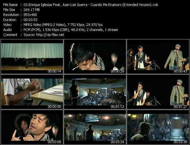 Enrique Iglesias Feat. Juan Luis Guerra video screenshot